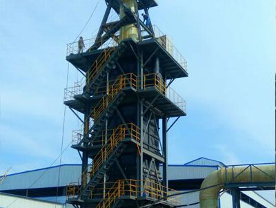枣庄滕州116管安装完成